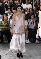 Kendall Jenner goes braless at the Givenchy Spring/Summer 2016 Paris Men's Fashion Week Show