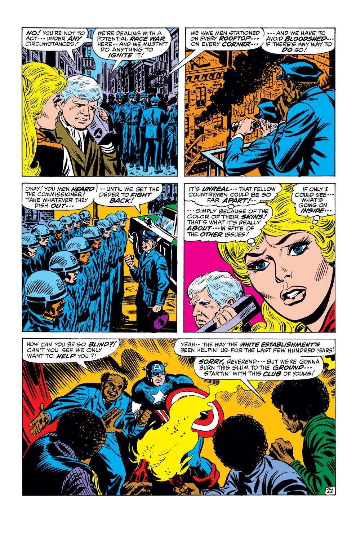 Captain America (1968) Issue #143 #57 - English 23