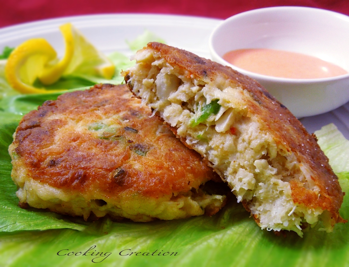 Crab Cakes With Flour