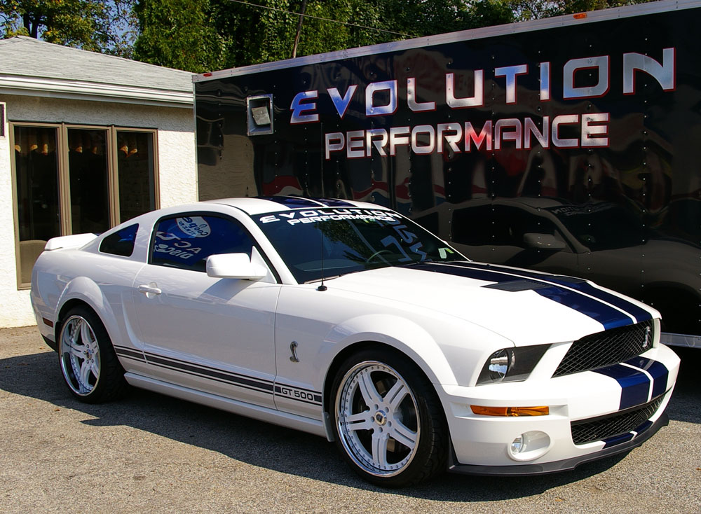 ford mustang shelby gt500. Evolution-Shelby-GT500-Mustang