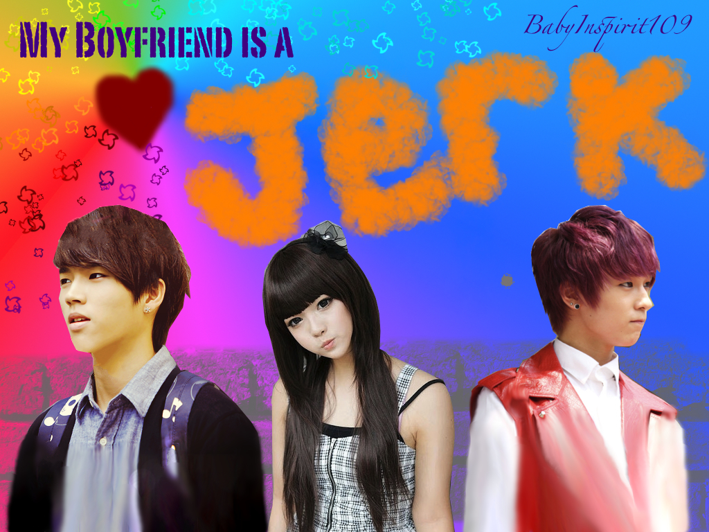 My Boyfriend Is A Jerk - ljoe myungsoo romance woohyun you naeun - main story image