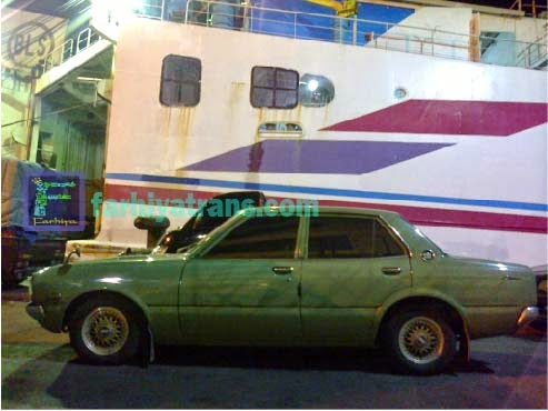 jasa kirim mobil sedan surabaya dengan kapal laut
