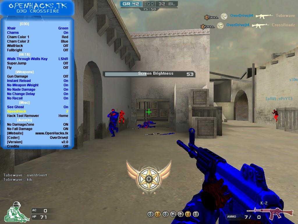 Yeni – D3D CrossFire Hack v2.0