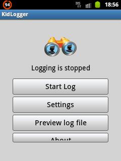 Kidlogger (Keylogger) untuk Android