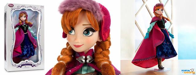 nueva muñeca edicion limitada frozen traje de nieve