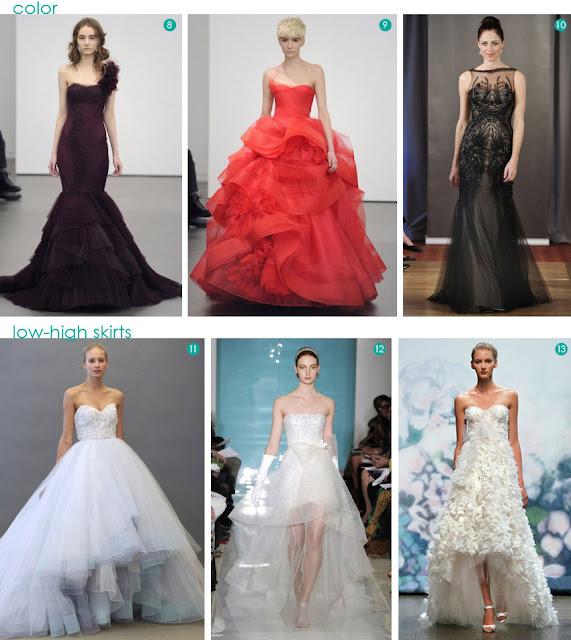 2013 fashion bridal trend