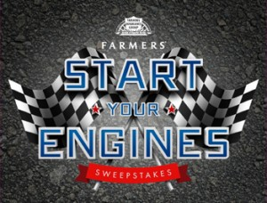 Farmers Insurance Start Your Engines Sweepstakes