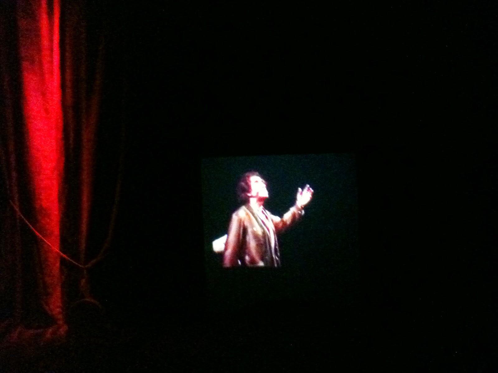 Recital en el Teatro Español 1982