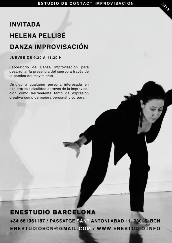 DANZA IMPROVISACIÓN. Helena Pellise