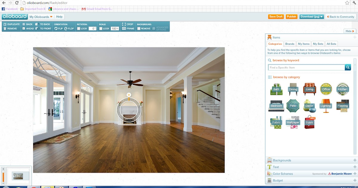 Vibrance and chaos online interior design tools - Online interior design tool ...