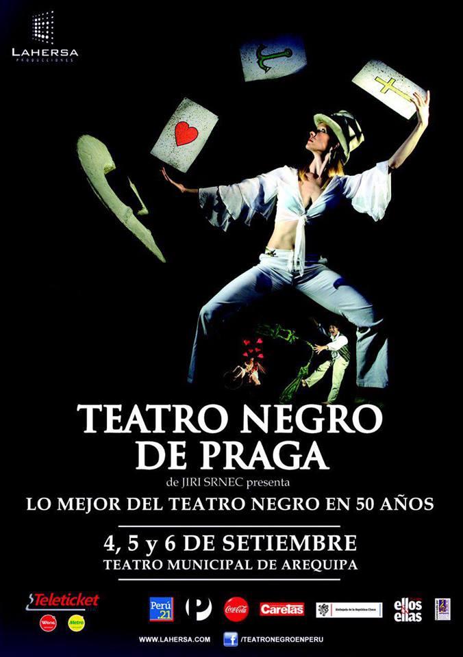 Teatro Negro de Praga (4, 5 y 6 set)