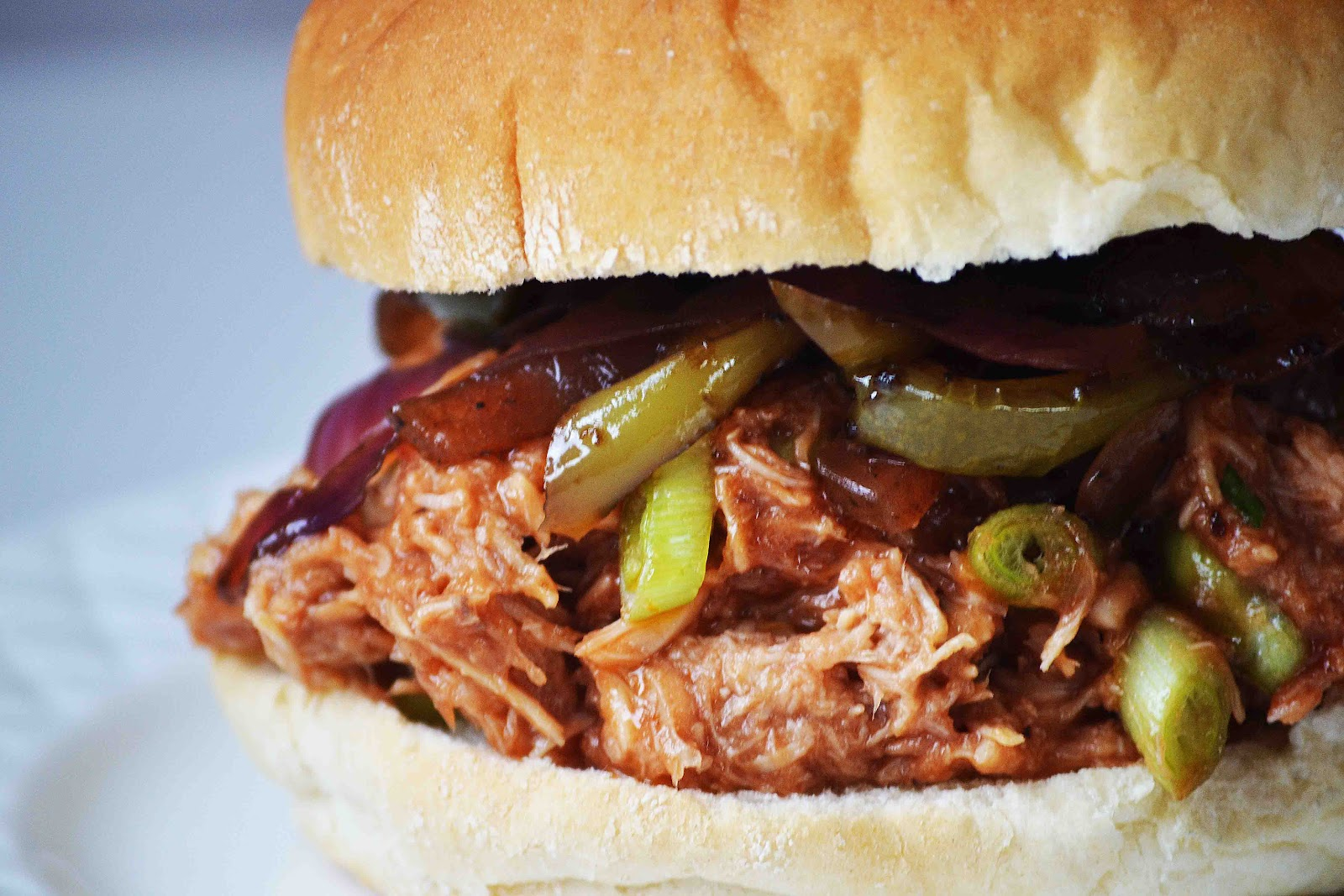 Slow Cooker Woodchuck Hard Cider Pulled BBQ Chicken ...