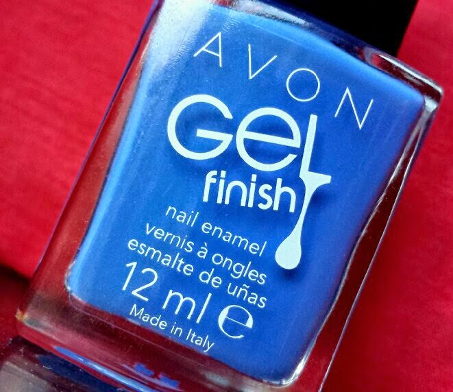 Avon Gel Finish Nail Enamel in Royal Vendetta