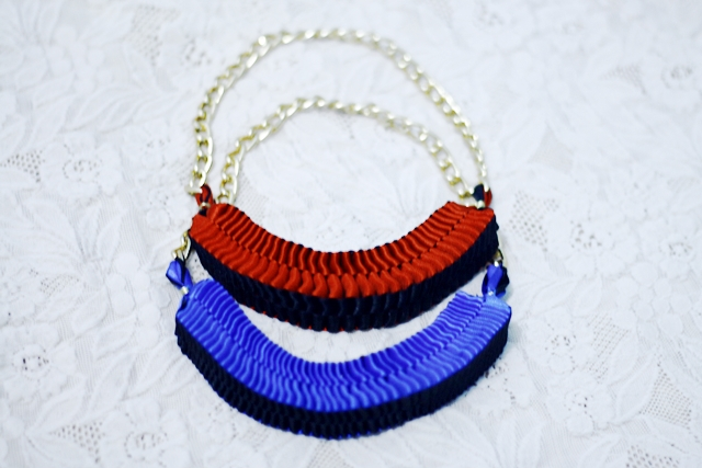 Clemence Woven Necklace