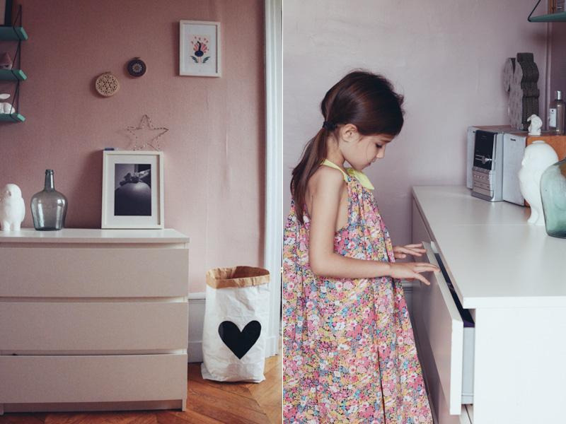 Emejing Chambre Fille Couleur Vieux Rose Photos - House Design ...