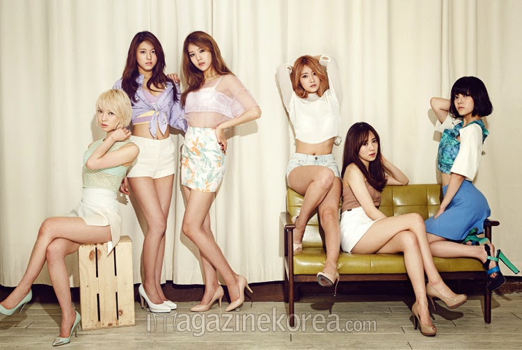 AoA Ace of Angels - Esquire Magazine April Issue 2014