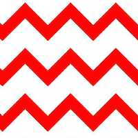 red chevron pattern paper