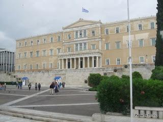Cladirea-parlamentului-elen