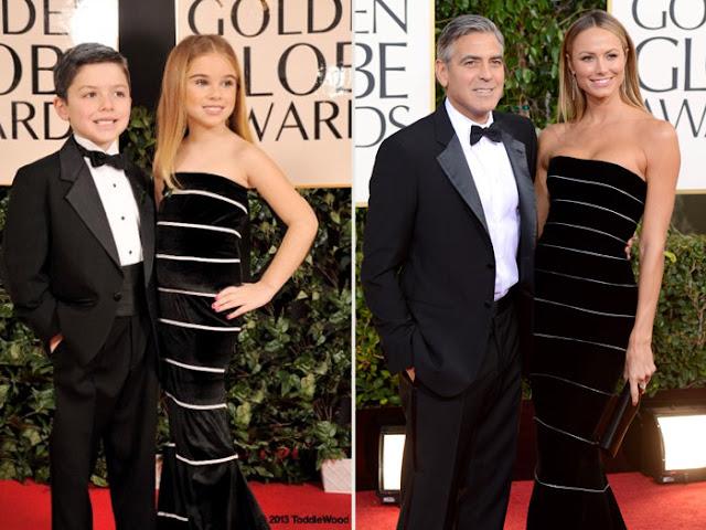 Geoger Clooney e Stacy Kleibler