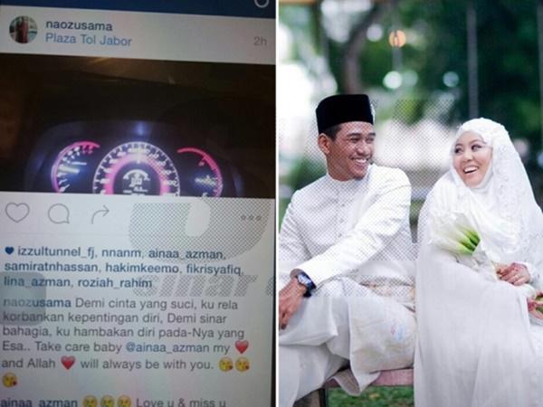 Lagi Kes Kemalangan Di LPT2, Pesanan Akhir Suami Sebelum Ajal Menjemput!