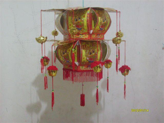 Gambar Lampion dari kertas Ang Pao