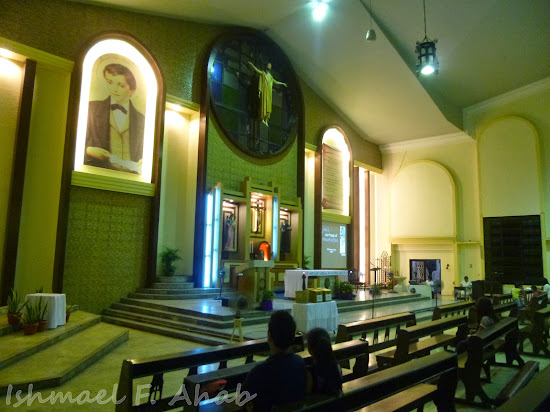 Altar of Saint Dominic Savio Church in Mandaluyong