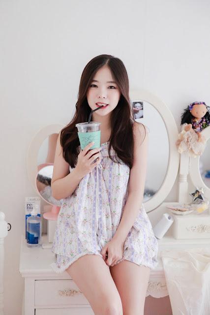 3 Cutie Haneul OnOff - very cute asian girl-girlcute4u.blogspot.com