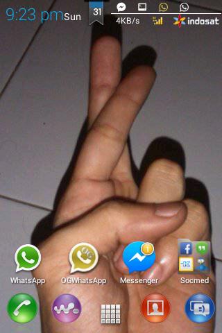 Cara Memasang Carrier Logo di Statusbar Android