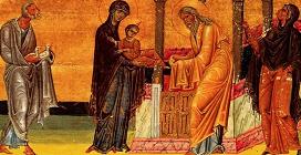 """PRESENTACIÓN DE JESÚS EN EL TEMPLO (Lc 2, 22-25, 34-35). Fiesta de """"LA CANDELARIA"""" 02 de Febrero"""