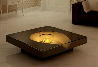 con iluminacin interna esta bella mesa hace tambin las veces de una sutil lmpara