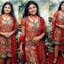 Monika Red Designer Salwar Kameez