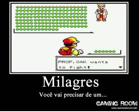 Milagres Pokémon