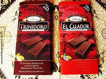 Wykwintne gorzkie czekolady - Rausch
