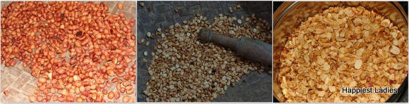 kadalekayi unde peanut laddu