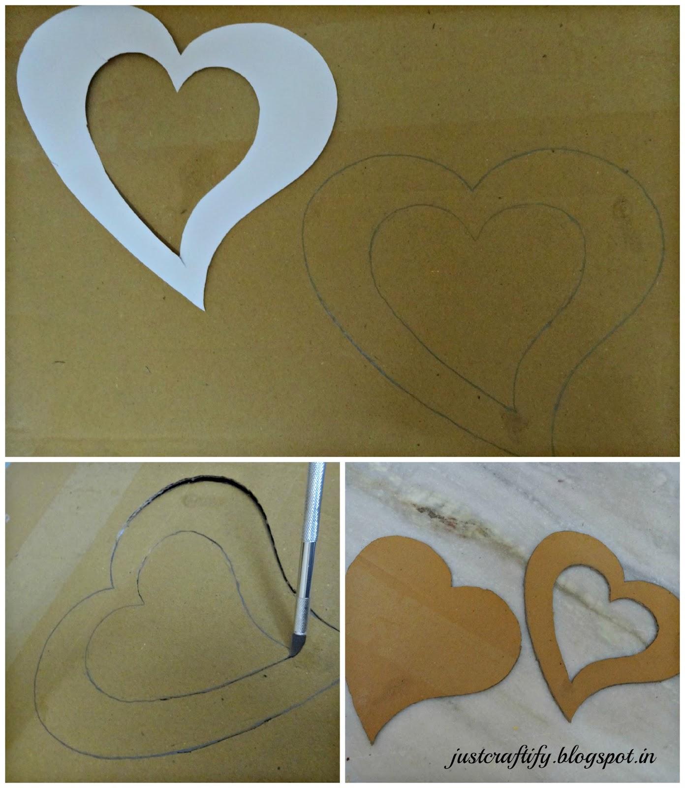 Just Craftify.!!: DIY Photo Frame using Cardboard