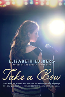 Review of Take A Bow by Elizabeth Eulberg published by Scholastic