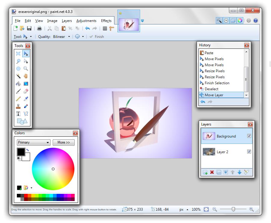How To Change Bucket Color In Paint Net