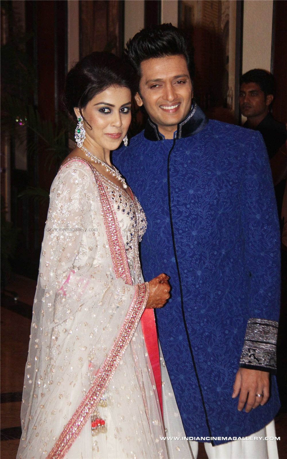 Ritesh Deshmukh And Genelia DSouza Marriage HD Pics