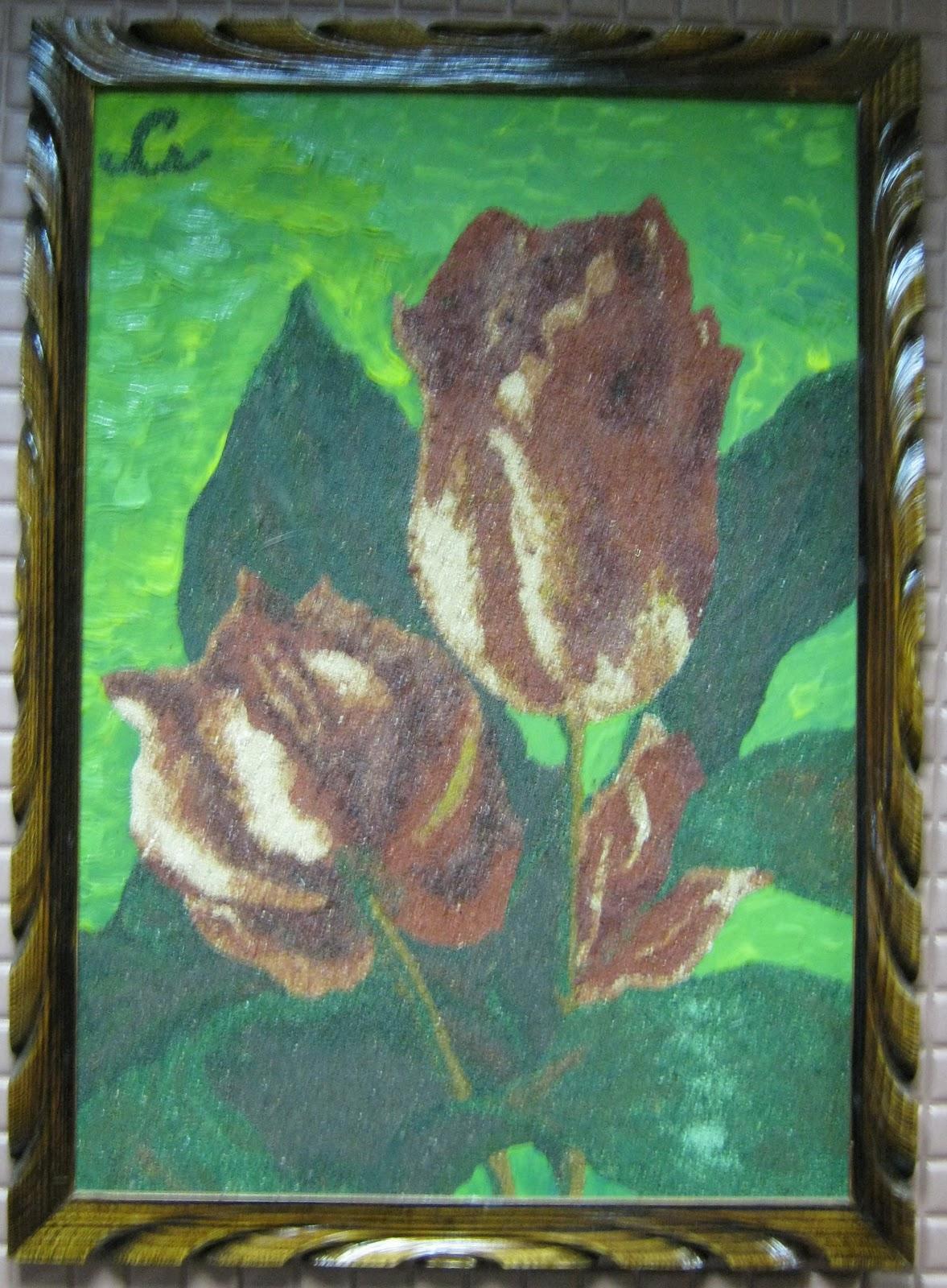 Картины из опилок