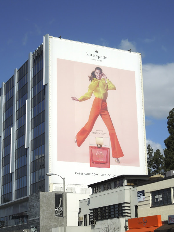 Kate Spade Live Colorfully billboard