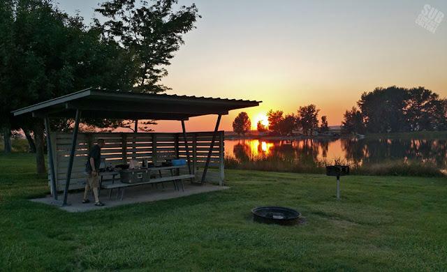 Camping at Murtaugh Lake County Park
