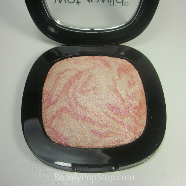 wet n wild fergie shimmer palette rose champagne glow swatches and review
