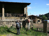 Els porxos d'Els Foquers. Autor: Carlos Albacete
