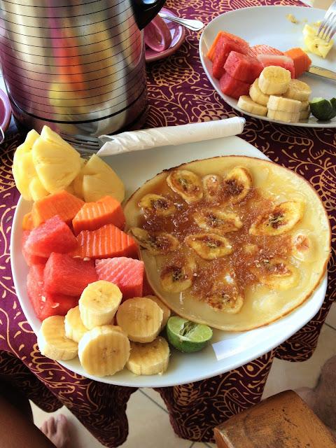 yiweilim, yiweilim blogspot, tanah semujan, tanah semujan ubud, ubud, bali, banana pancakes