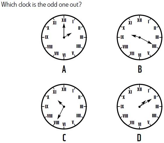 Brain Puzzlers: Odd Clock