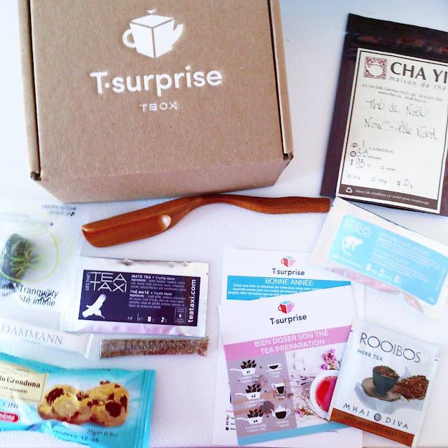 La boîte T-Surprise pour accompagner un tea party pour Mini Radieuse