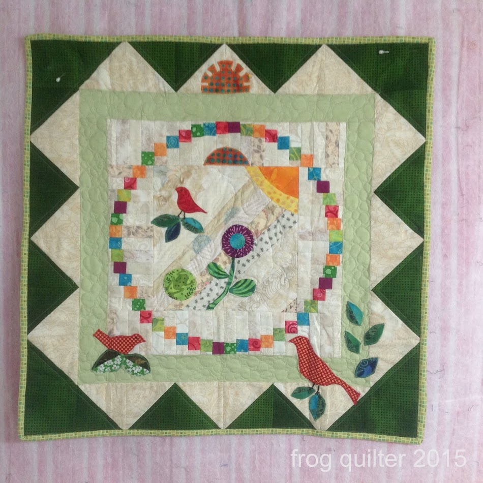 Frog Quilter