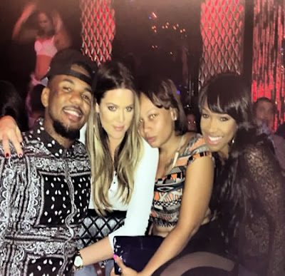 Khloe Kardashian parties with rapper funny