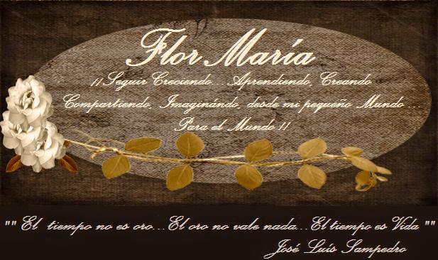 FlorMaría...Seguir Creciendo, Creando, Imaginándo, Compartiendo !!!