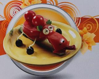 Camello de Tomates, Buffets Originales, Vegetales con Formas